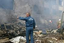 Sebevražedný útočník podnikl smrtící útok v Ingušsku