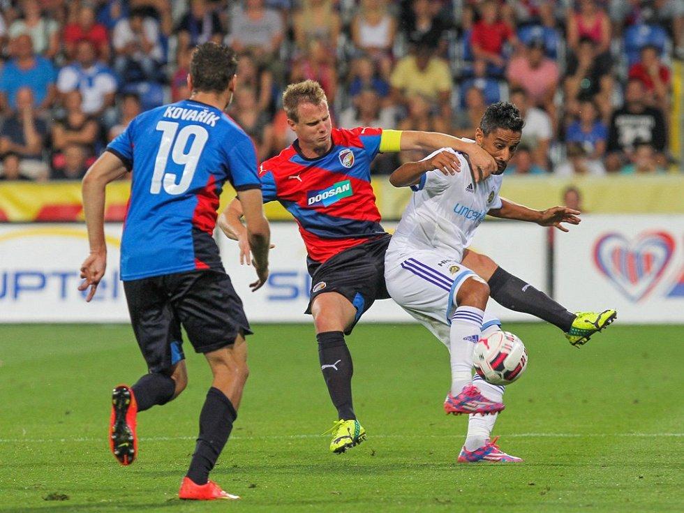 Plzeň - Maccabi Tel Aviv: David Limberský a jeho snaha