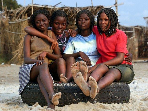 místní dívky styk