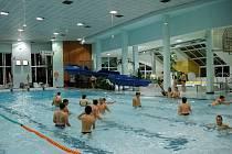 Krytý bazén v Sokolově