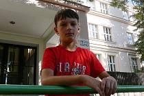 HRDINA! jedenáctiletý Bohumil Assmann z Kladenského Rovné zachránil život zhruba šestiletého dítěte, které se topilo v místním rybníku.