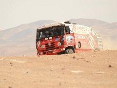 Aleš Loprais na Rallye Dakar 2013.