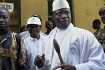 Gambijský prezident Yahya Jammeh