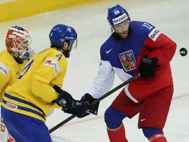 Jiří Novotný (vpravo) a Tim Erixon ze Švédska.