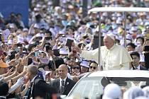 Papež František v Jižní Koreji.