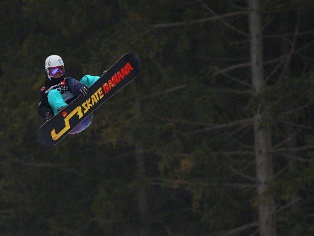 Martin Mikyska vyhrál Quiksilver Snowjam 2012 ve Špindlerově Mlýně.
