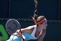 Iveta Benešová na turnaji v Miami.