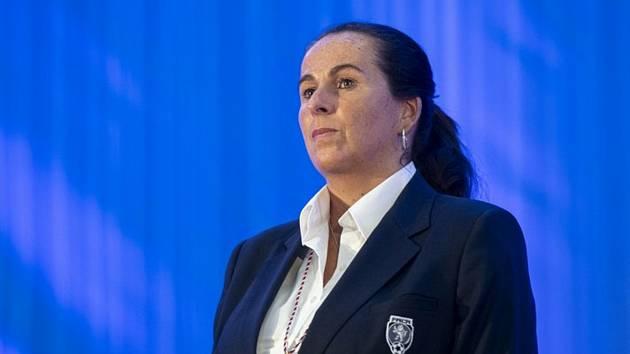 Bývalá rozhodčí Dagmar Damková (na snímku z 24. května 2019).