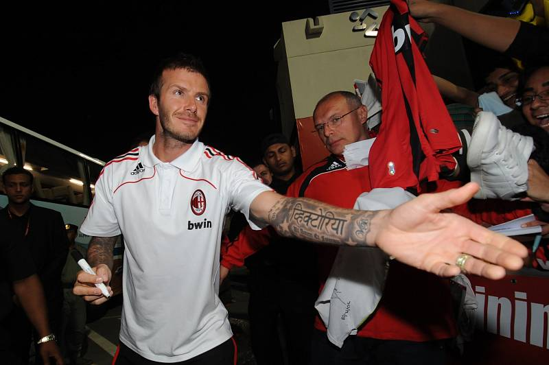Milovníkem tetování je i David Beckham.