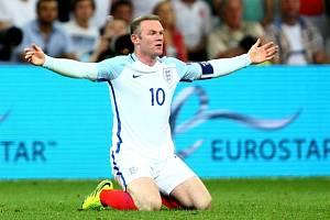 Wayne Rooney z Anglie.