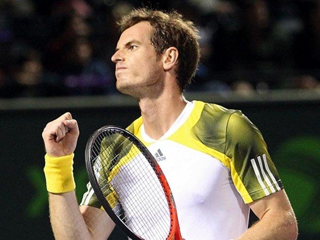 Andy Murray na turnaji v Miami.