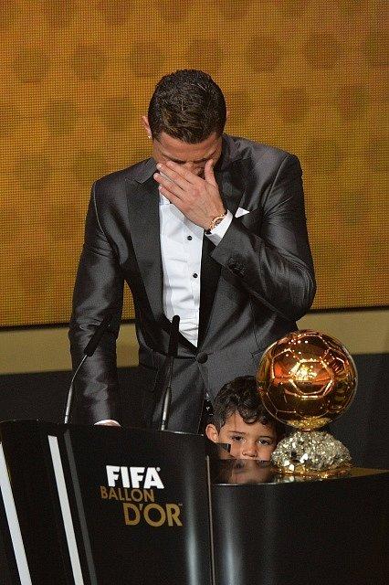 Cristiano Ronaldo a jeho dojetí