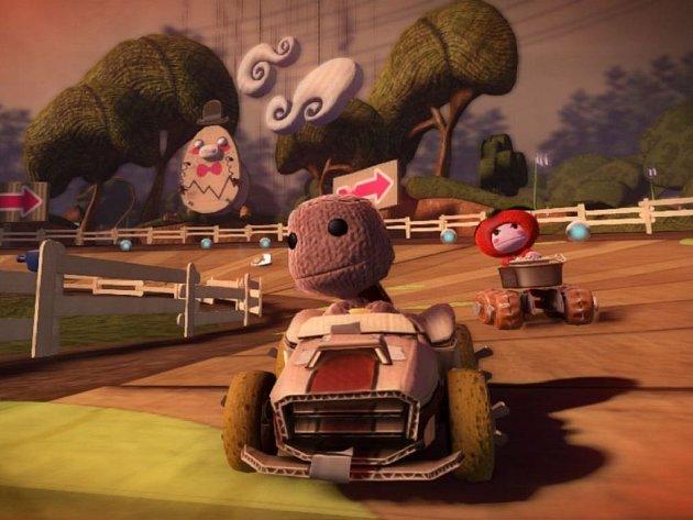 Počítačová hra LittleBigPlanet Karting.