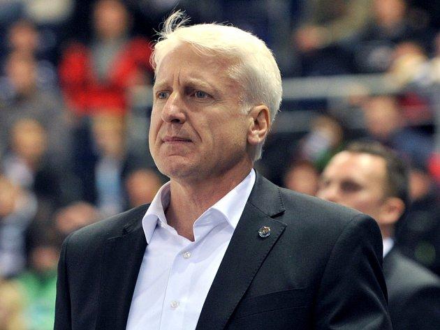 Hokejový trenér Marian Jelínek.
