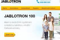 Jablotron - web