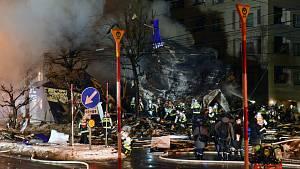 Výbuch restaurace v Japonsku zranil 41 lidí.