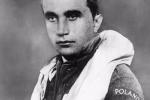 Josef František v polské uniformě