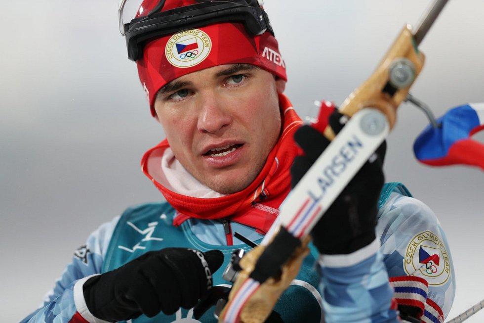 Michal Krčmář dojel ve stíhacím závodě až třicátý.