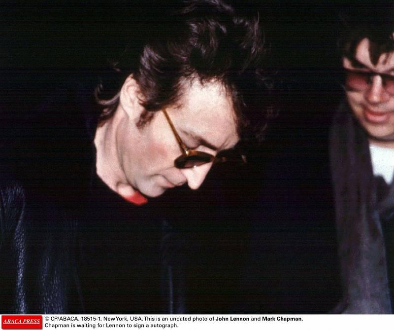 John Lennon a Mark David Chapman