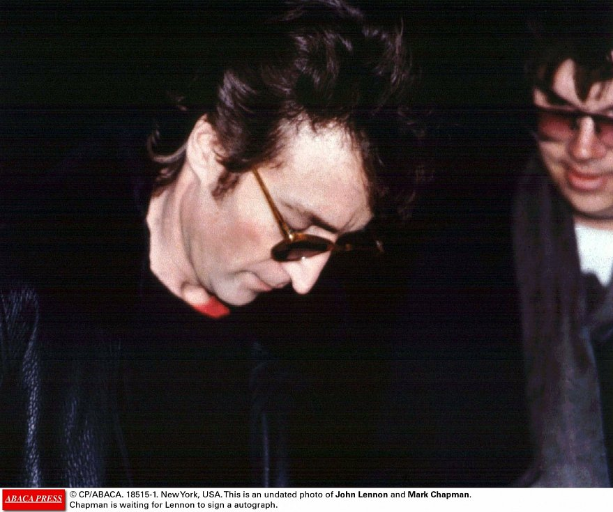 John Lennon a Mark David Chapman