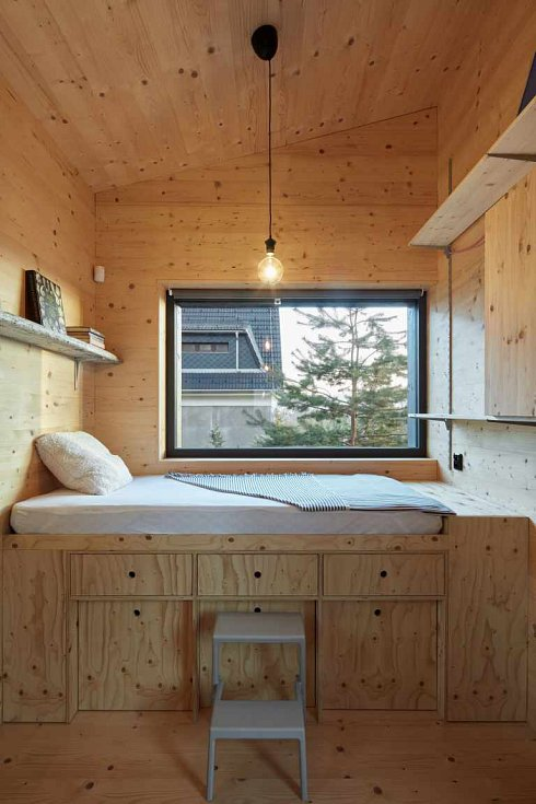 Stavby architektonického studia Mjölk nejlépe charakterizuje severská koncepční jednoduchost a materiálová pravdivost.