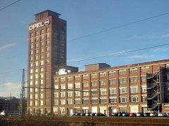 Sídlo automobilky Opel v hesenském Rüsselsheimu