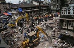 Zřícení domu v Bombaji