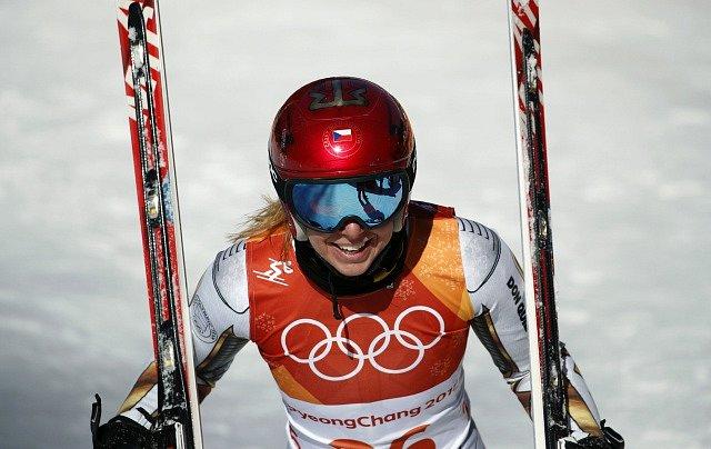 Ester Ledecká je zlatá!