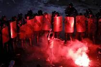Demonstrace v rumunské Bukurešti proti korupci