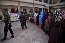 Parlamentní volby v Bangladéši.