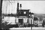 Letní vila továrníka Tichého vypálená nacisty