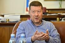 Šéf SPD Tomio Okamura