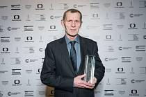 Jiří Schmitzer na předávání Cen české filmové kritiky 2019