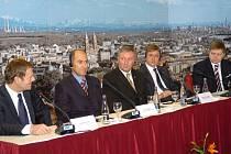 V Ostravě jednali premiéři pěti zemí Evropské unie