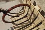 Výroba stojanu na kolo podle Ládi Hrušky