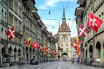 Hlavní město Švýcarska Bern