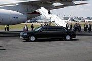 Vladimir Putin přijel do Finska s hodinovým zpožděním.