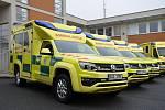 Nové vozy záchranné služby ve Zlíně