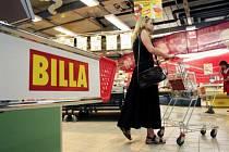 Obchod Billa. Ilustrační snímek