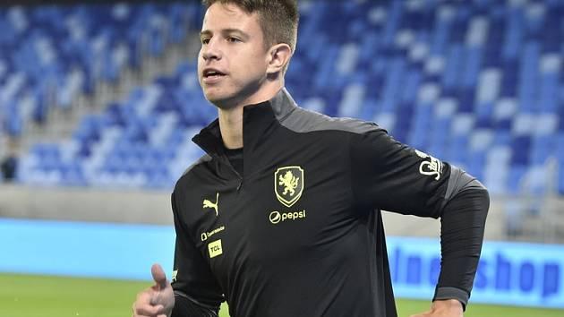 Adam Hložek, možný žolík fotbalistů Česka na ME