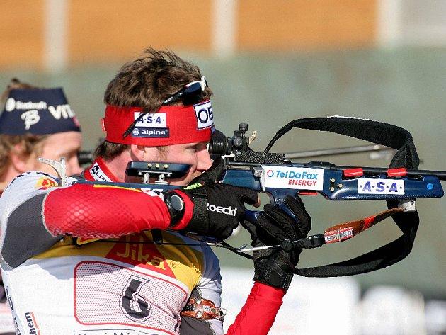 Biatlon - ilustrační foto.