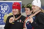 Martina Sáblíková obhájila na trati 5000 metrů světové zlato.
