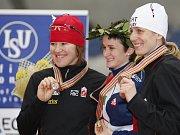 Martina Sáblíková obhájila v závodu na 5000 metrů mistrovský titul.