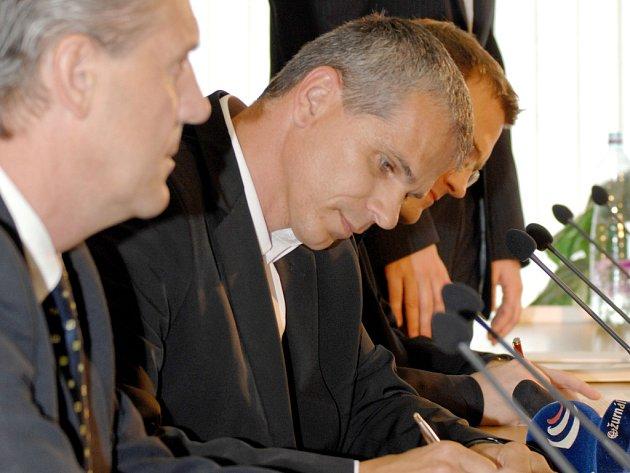 Lavička podepsal se Spartou smlouvu na dva roky.