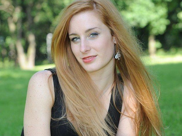 Vítězka poslední řady SuperStar Sabina Křováková