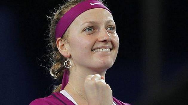 Petra Kvitová ve finále Hopman Cupu.