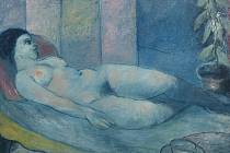 AKT. Olej na plátně Karla Černého.