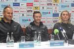 Tomáš Staněk, Pavel Maslák a Barbora Špotáková