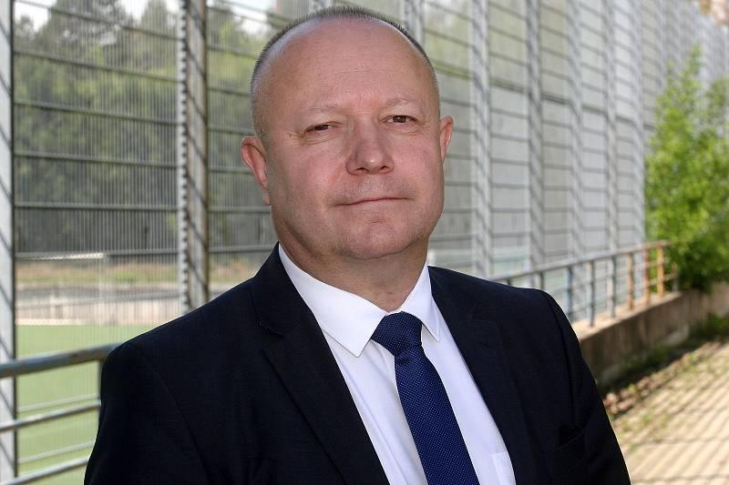 Brno 24.5.2017 - kandidát na předsedu FAČR Petr Fousek