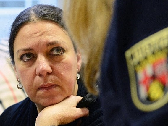 Obžalovaná Melanie Christin Bernhartová
